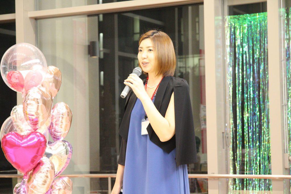 卒業生代表スピーチ